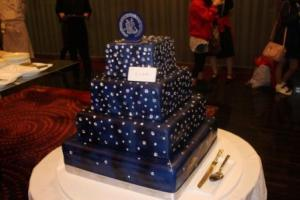 Amazing Cake for JC...loved the presenttaion