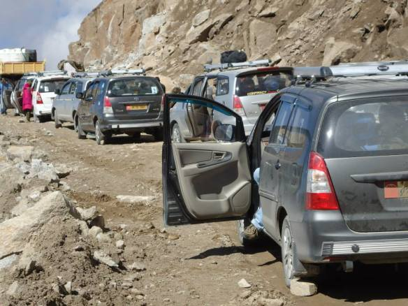 Welcoming the Jam --Courtesy -Landslides