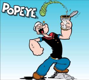 Popeye - The sailor Man:)